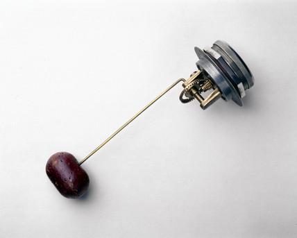Magnetic petrol gauge, 1927.