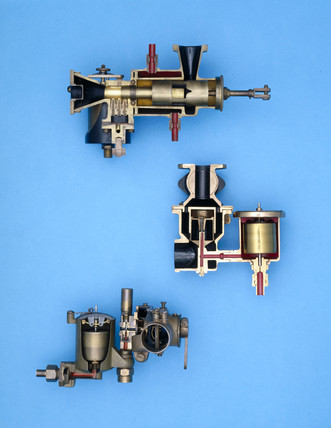 Group of carburettors, early 20th century.