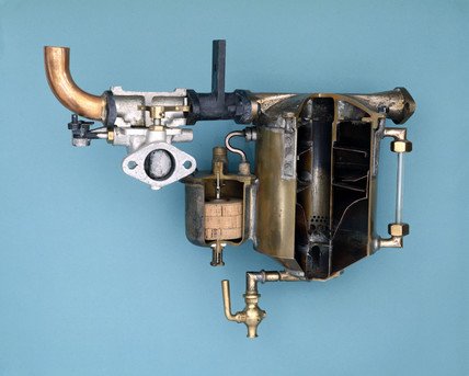 Carburettor from a Delahaye motor car. 1901.