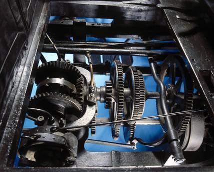 Panhard-Levasor 4 hp motor car gearing, 1894.