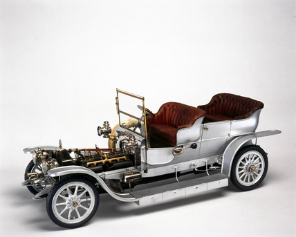 Rolls-Royce 'Silver Ghost' motor car, 1907.