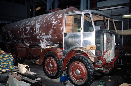 aeC Mammoth Major Mk 1 four-axle lorry, 1934.
