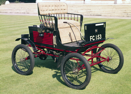 Stanley Locomobile steam car, 1899.