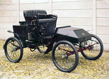 Foster steam car, 1901.