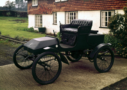 Foster steam car, 1901.