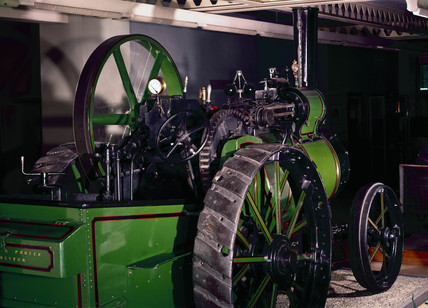 Aveling and Porter steam traction engine, 1873 (Science Museum / Science & Society)