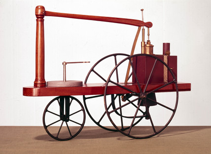 Murdock's Locomotive, 1786.