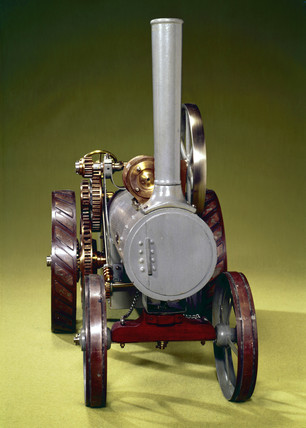 Aveling and Porter traction engine, late 19th century.