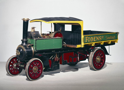 Foden open steam wagon, 1912-1914.