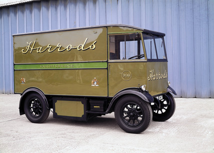 Harrods electric delivery van, 1939.