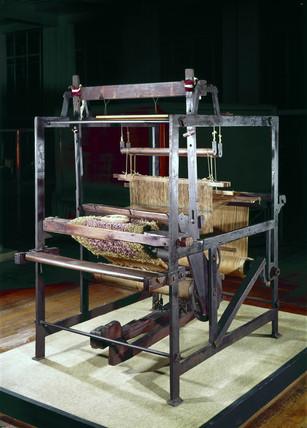 Hand loom, 1832.