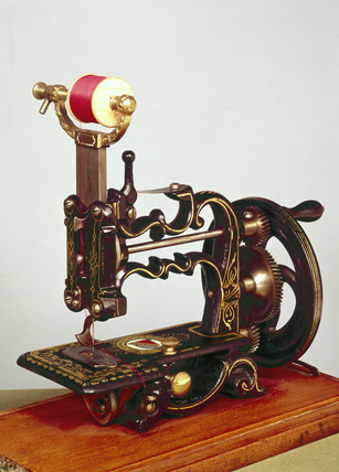 Weir sewing machine, 1872.