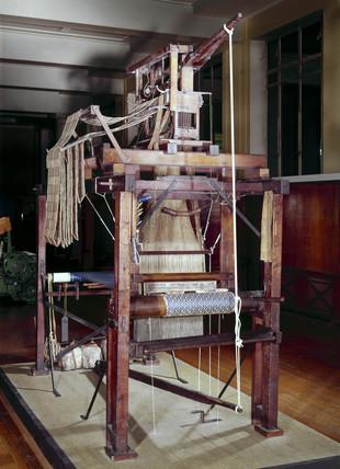 Jacquard loom, c 1825.