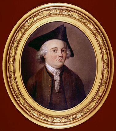 John Kay, English inventor, c 1750s.