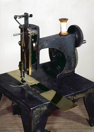 Original Isaac Singer sewing machine, 1853 (Science Museum / Science & Society)