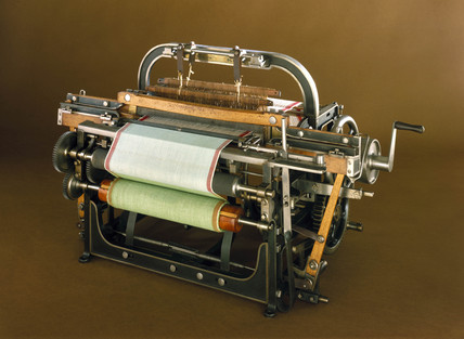 Power loom, 1857.
