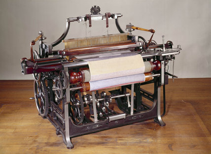 Power loom, 1851.