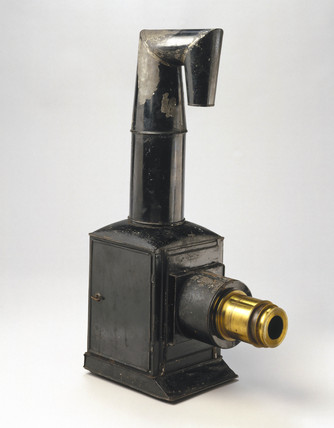 Magic lantern, c 1830.