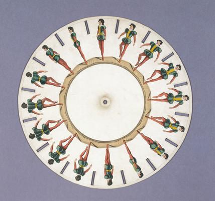 Fantoscope disc, 1833.