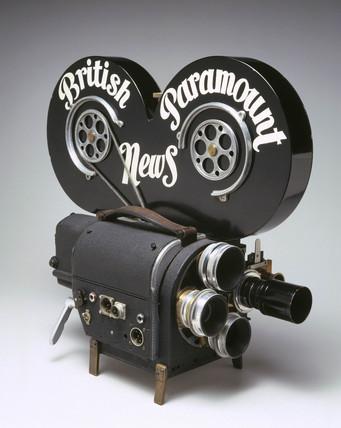 Wall 35mm cine camera, c 1948.