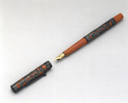 Fountain pen, 1900-1910.