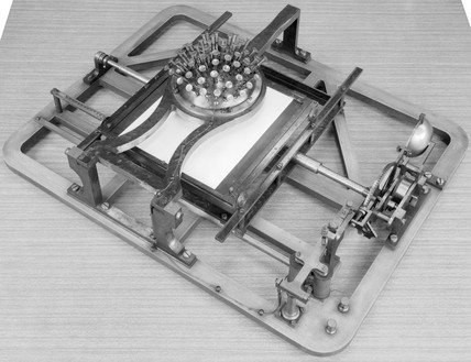 Example of Hansen's Writing Ball patented 1
