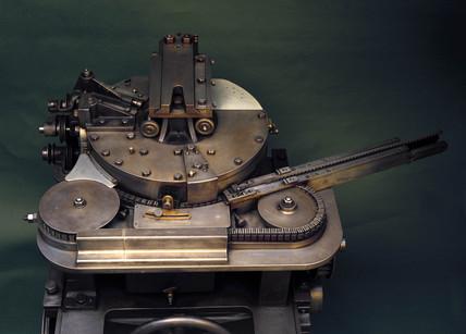 Wicks rotary typecaster, 1878.