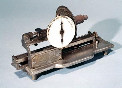 'Columbia' typewriter, 1886.