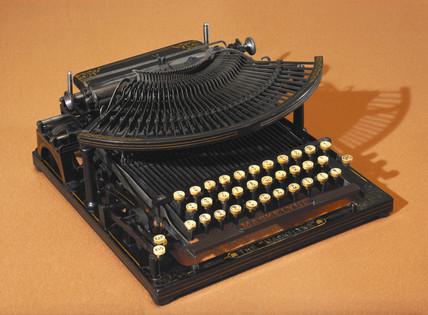 Maskelyne typewriter, 1889.