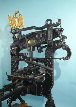 'Columbian' printing pres, 1837.