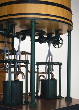 John Dickinson's cylinder paper-making machine, 1809.