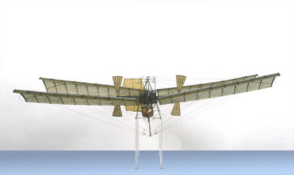 Samuel Pierpoint Langley's 'aerodrome', 1903.
