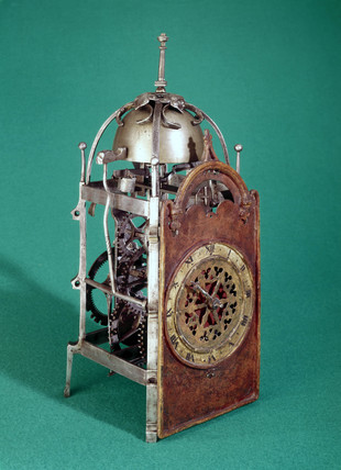 Liechti iron chamber clock, 1596.