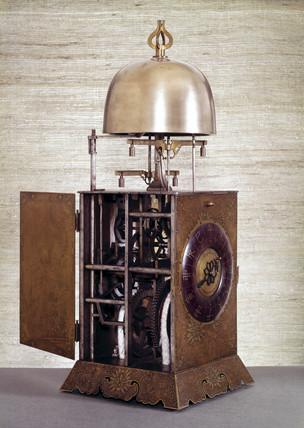 Lantern clock, Japanese, 19th century.