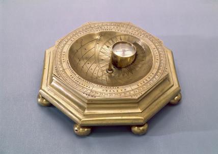 Florentine cup sundial, 1580.
