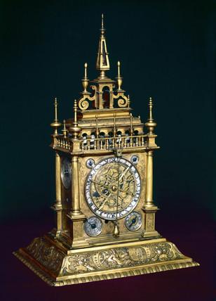 Augsburg clock, c 1630.