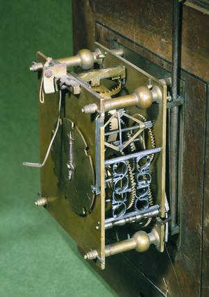 Bracket clock, French, c 1680.