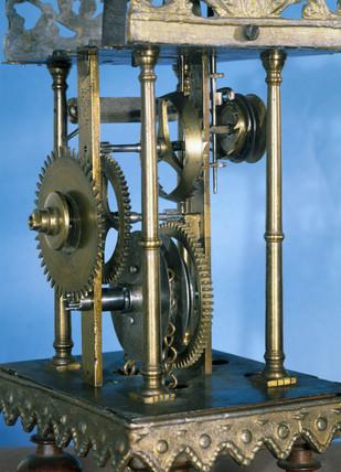 Friesland alarm timepiece, 1701-1800.
