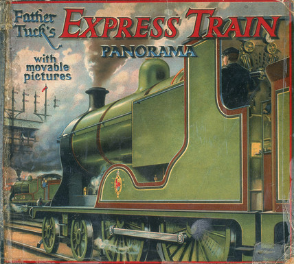 'Father Tuck's Expres Train Panorama, with movable pictures', late 19th century.