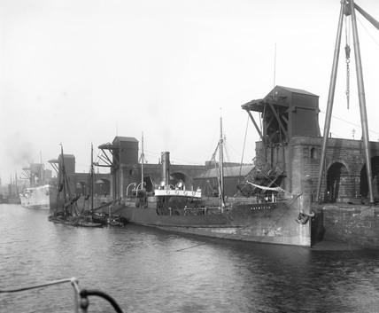 Garston docks, c 1900.