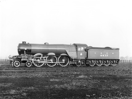 'Flying Scotsman' A1 Class engine, 29 November 1924.