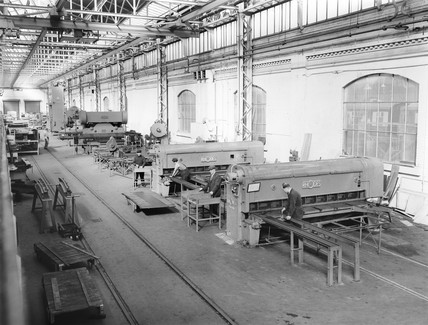 York carriage works, 1952.