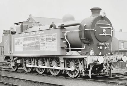 Tank engine at Doncaster works, 1903.