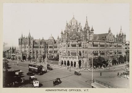 Victoria Terminus, Bombay, India, c 1930.