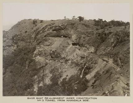 Bhor Ghat, India, c 1930.