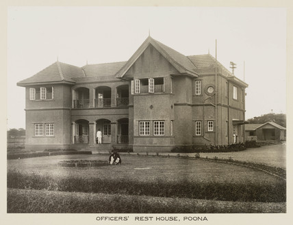 Officers' rest house, Poona, India, c 1930.