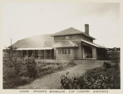 Bungalow, India, c 1930.