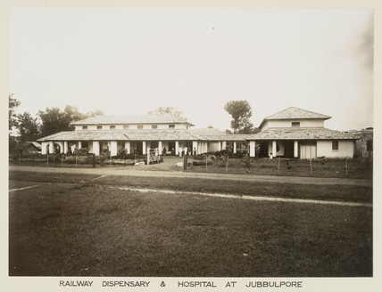 Railway hospital, Jabalpur, India, c 1930.