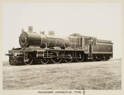 Steam locomotive, India, c 1930.