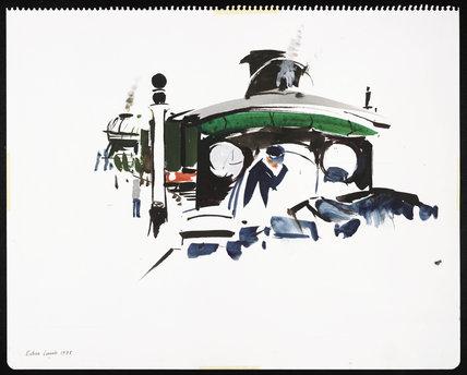 Flying Scotsman and Hardwicke, 1975.